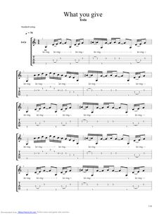 Tesla love song tab pdf