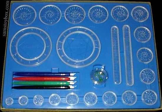 the original spirograph design set instructions