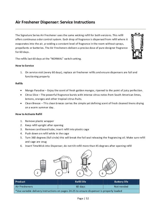 tork air freshener dispenser instructions