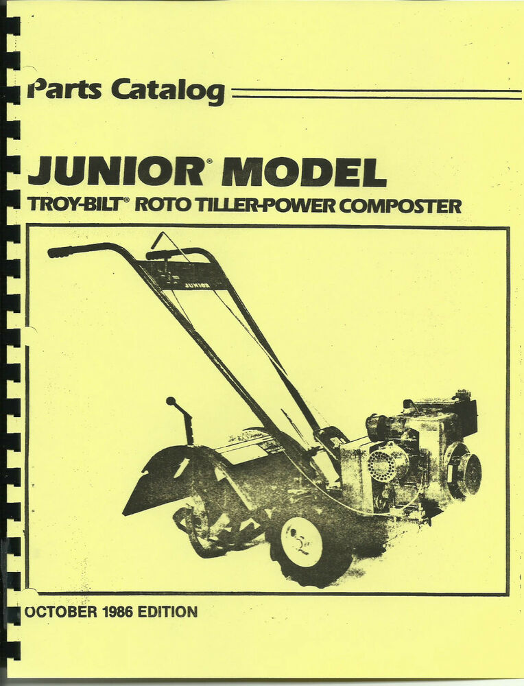 Troy bilt tiller repair manual