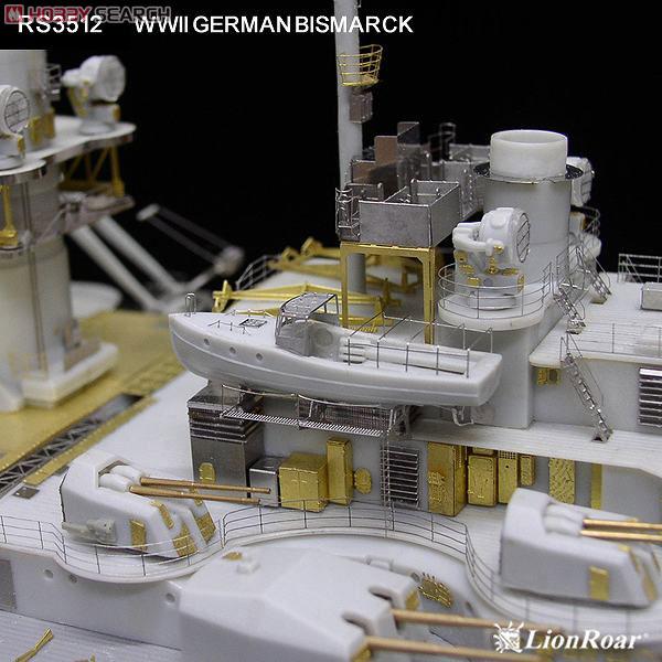 trumpeter 03702 german bismarck battleship instruction guide