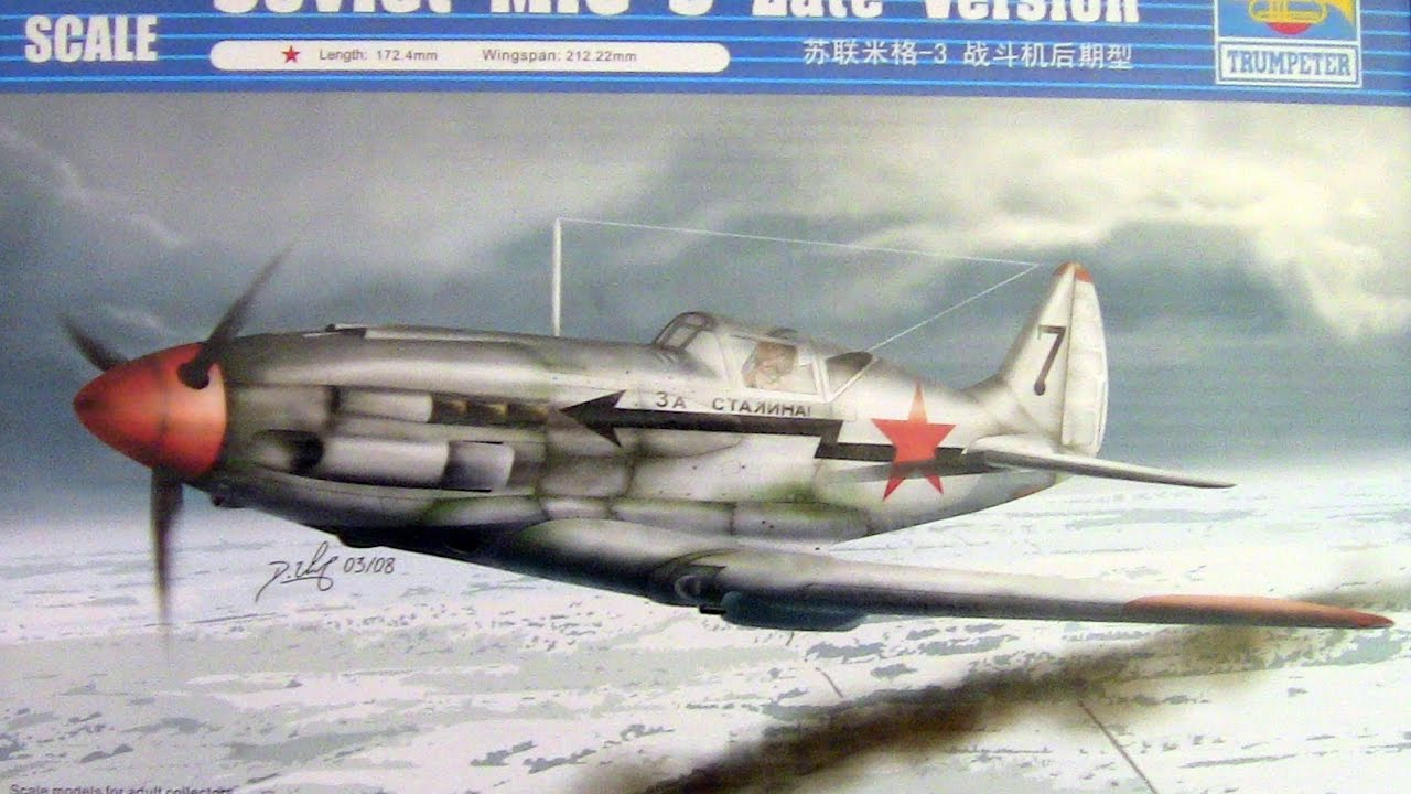 trumpeter mig 3 kit instructions