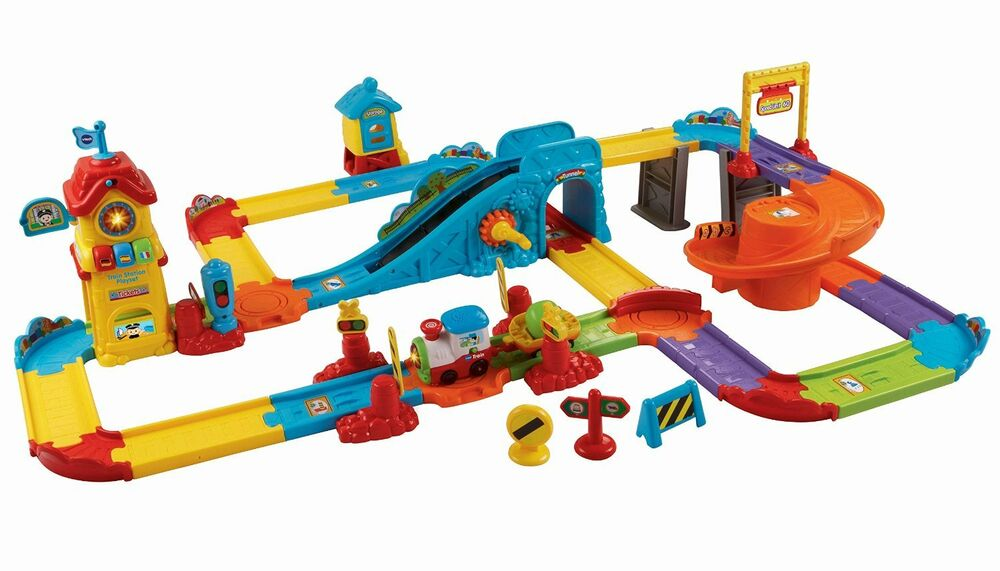 vtech toot toot train set instructions