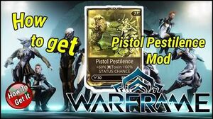 Warframe how to get pistol amp