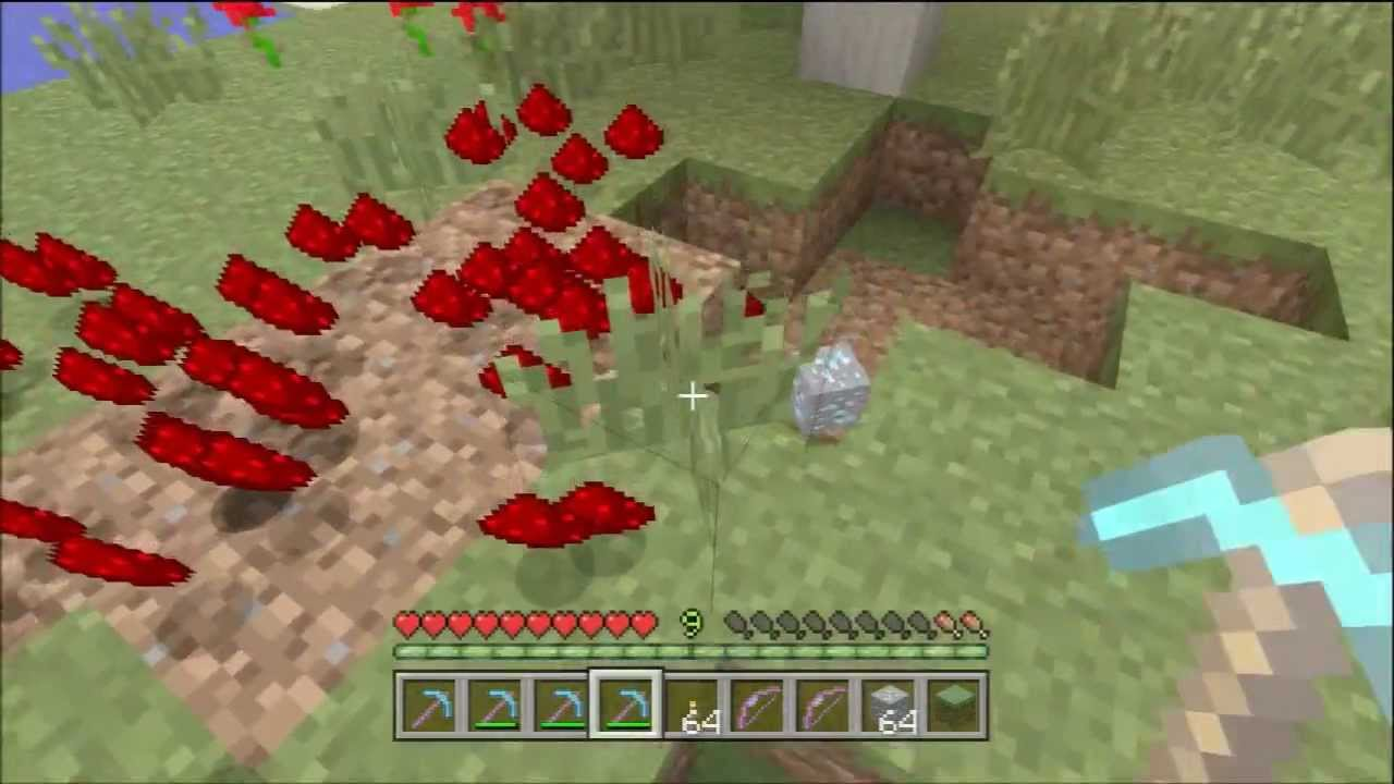 Xbox one minecraft how to get pickaxe