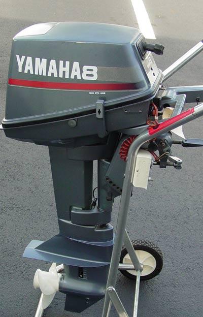 Yamaha 8hp 2 stroke repair manual