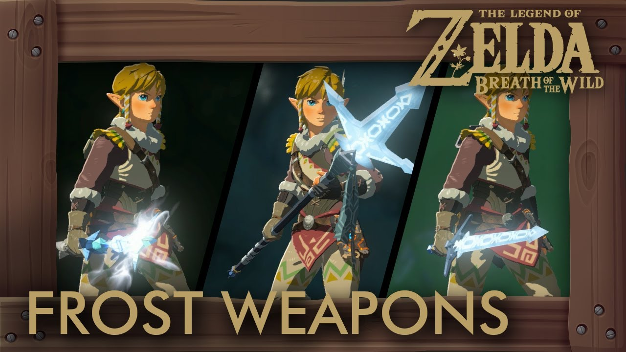Zelda how to fix weapons